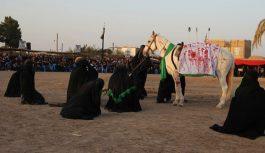 مراسم تعزیه خوانی در روستای بیلند برگزار شد + تصاویر