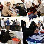 گزارش تصویری حضور پرشور و حماسی مردم بیلند در انتخابات-بخش دوم