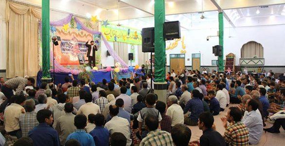 برگزاری مراسم جشن عید غدیر در بیلند (تصاویر)