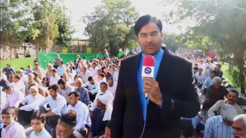 گزارش برگزاری مراسم باشکوه نمازعیدفطر در بیلند(باشگاه خبرنگاران)