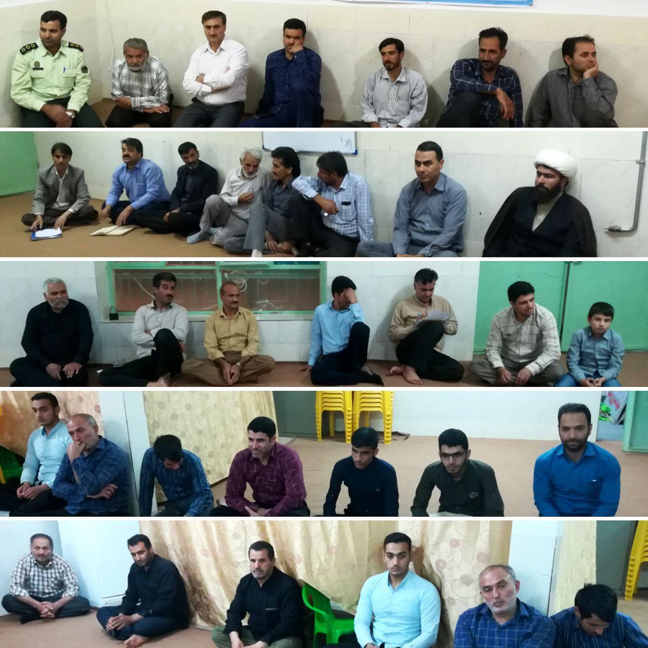 برگزاری دهمین جلسه برنامه ریزی اجتماع بزرگ مردم بیلند و برگزاری نماز مشترک عید سعید فطر