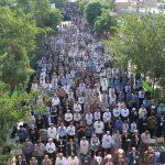 برگزاری نماز عید فطر به امامت امام جمعه گناباد در بیلند