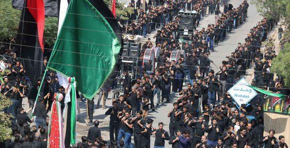 تصاویر مراسم عزاداری روز تاسوعا
