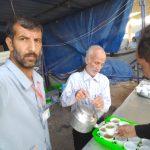 ایستگاه صلواتی توسط اهالی بیلند در شهر های نجف و کربلا موکب امام رضا علیه السلام
